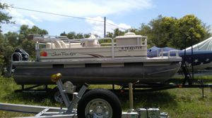 2008 sun tracker classic,party barge for Sale in Round Rock, TX