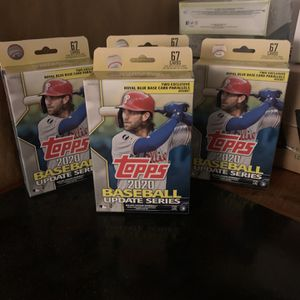 Topps Update Baseball Hanger Boxes for Sale in Portland, OR