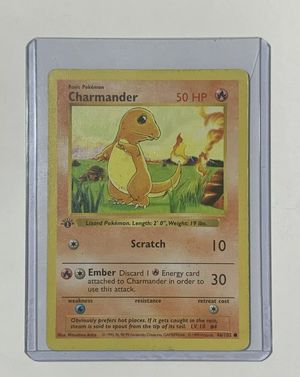 Shadowless 1st edition charmander rare for Sale in Livermore, CA
