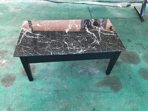 Erna Black Faux Marble Lift Top Coffee Table( FREE DELIVERY IF NEEDED) for Sale in Fort Meade, FL