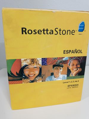 Rosetta Stone Levels 1-5 for Sale in Palmetto, FL