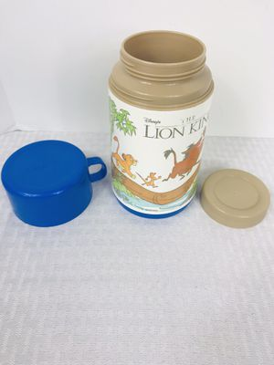 Vintage Disney the Lion King Aladdin Thermos for Sale in Pawtucket, RI