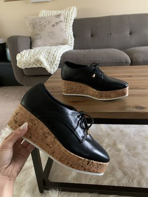 Forever 21 Faux Leather Oxford Wedges for Sale in Everett, WA