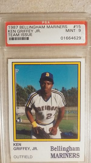 1987 Bellingham Mariners #15 Ken Griffey Jr. Team Issue for Sale in Olympia, WA