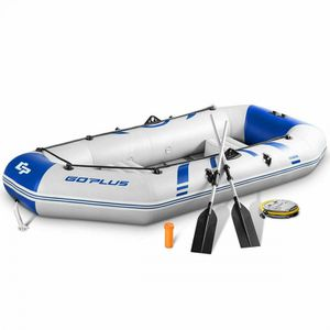 2-3 Person Inflatable Air Pump Fishing Boat With Oars for Sale in Orlando, FL