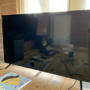 NEED TO SELL FAST 50 Inch 4k TV TLC for Sale in Salt Lake City, UT