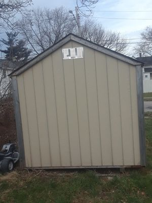 Shed is two years old, paid 1700 to have built right where it sit. Asking 800 price is not negotiable. for Sale in Cleveland, OH