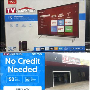 """32"""" TCL Roku Smart 1080p 120hz for Sale in Bell Gardens, CA"""