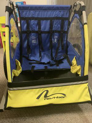 Double seat bike trailer for Sale in Oviedo, FL