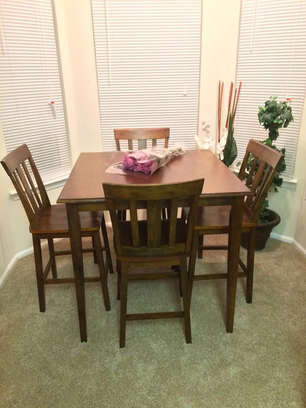 5 piece dining set , counter height
