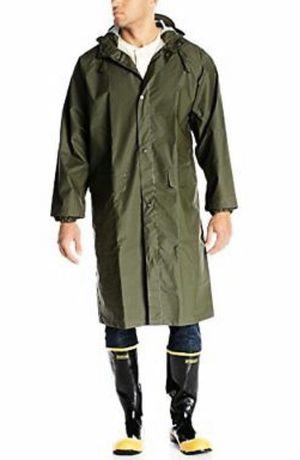 Long light green raincoat for Sale in Las Vegas, NV