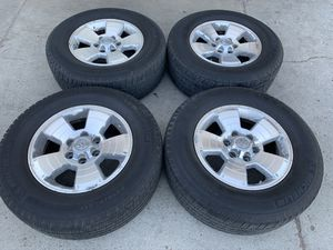 4 Michelin tires with rims (everything included) for a Toyota 4Runner for Sale in Lincoln Acres, CA