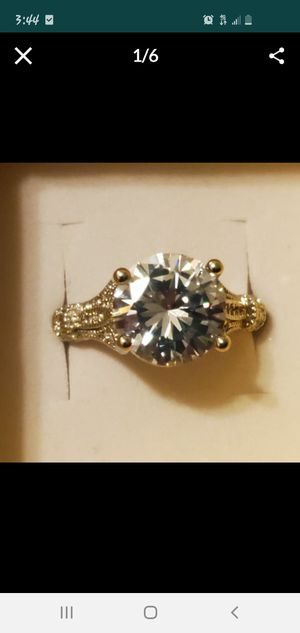 Sz 9 GORGEOUS 3 CT MOISSANITE for Sale in Vancouver, WA