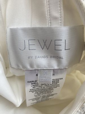 NEW wedding Dress w/ tags JEWEL by David's Bridag for Sale in Miramar, FL