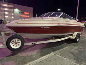 1986 sea ray runs great pink slip in hand for Sale in DEVORE HGHTS, CA