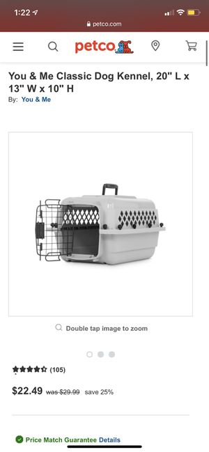 """Dog Kennel/Crate Small Sz 20"""" for Sale in Covina, CA"""