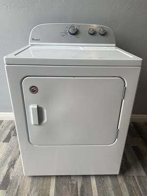 Whirlpool Electric Dryer- 1 YEAR WARRANTY INCLUDED! for Sale in Tucson, AZ