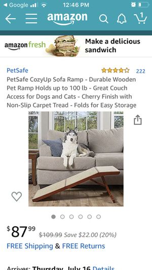 Pet Safe Dog Ramp for Sale in Vancouver, WA