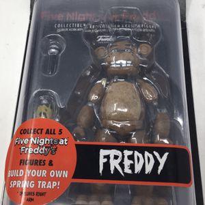 Funko Five Nights at Freddy's: Freddy Action Figure for Sale in Pompano Beach, FL