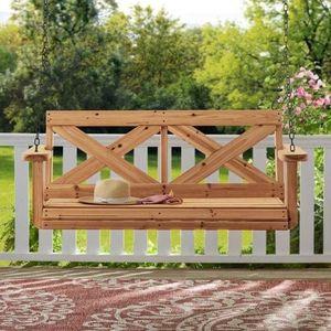 Backyard Discovery All Cedar Porch Swing for Sale in Chesapeake, VA