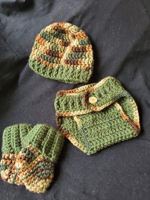 Crochet newborn outfit for Sale in Modesto, CA
