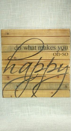 """Wooden Wall Art 16""""x16"""" *PICKUP ONLY* home decor, household, pictures, flowers for Sale in Mesa, AZ"""