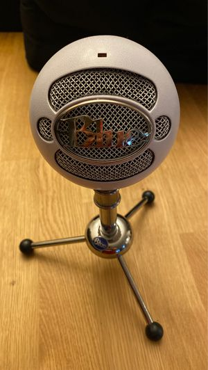 Blue Snowball microphone for Sale in San Jose, CA