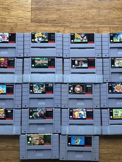 Super Nintendo Games for Sale in Tigard,  OR