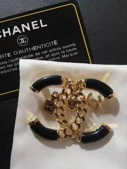 Classic Style CC Brooch With Charms for Sale in Newark,  CA