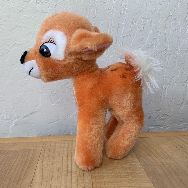 Vintage 80s Hardees Disney Bambi Plush Toy