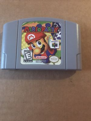 Mario Party Nintendo 64 for Sale in Opa-locka, FL