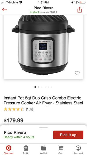 Instant pot for Sale in Montebello, CA