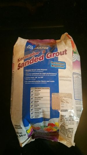 Mapei 10lbs Sanded Grout for Sale in Frostproof, FL