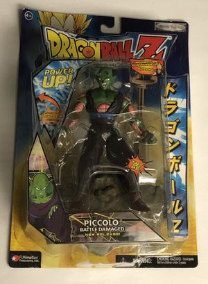 Jakks Pacific Dragon Ball Z POWER UP! PICCOLO BATTLE DAMAGED DBZ Dragonball for Sale in Spring Hill, FL