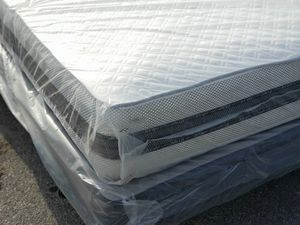 New queen mattress and box spring included for Sale in Palm Springs, FL