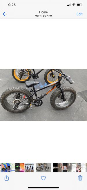 20inch fat tire bike for Sale in Lynn, MA