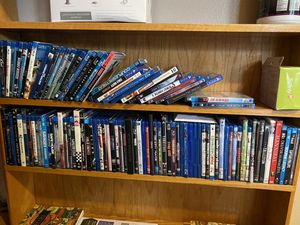 100 Blu-ray & DVDs for Sale in Montclair, CA