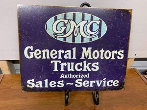 GMC tin signs for Sale in Lakeland, FL