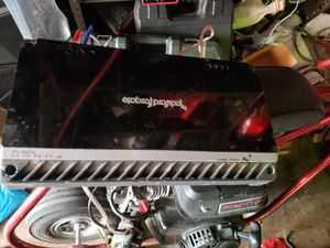 Rockford fosgate 1000w amp 1ohm stable 1000rms for Sale in Huntington Park, CA