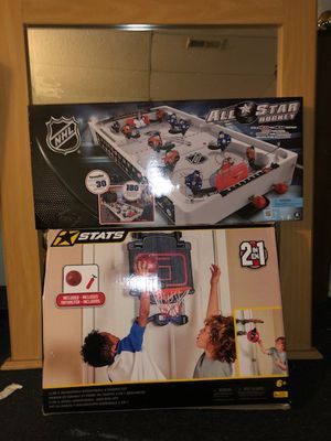Basketball and speed bag combo electronic hockey for Sale in Collingdale, PA