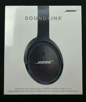 Bose® Soundlink II Around-Ear Wireless Headphones in Black for Sale in Woodbridge, VA