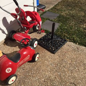 Red Car, Wagon, Trike.... for Sale in Round Rock, TX