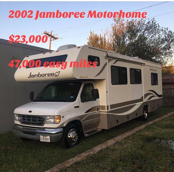 2002 Jamboree RV