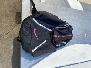 Nike Hoops Elite Max Air Team Basketball Backpack Anthracite/Black/Pink for Sale in Federal Way, WA