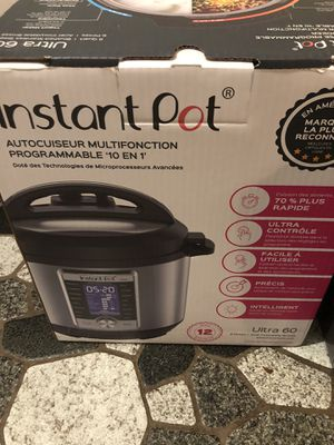 New Instant Pot Ultra for Sale in Leicester, NC
