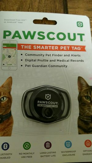 Pawsscout pet tag for Sale in Rocky Mount, VA