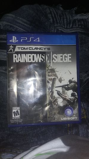 Ps4 rainbow six siege for Sale in Natalia, TX