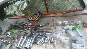 Brand new stainless steel and chrome plumbing parts kitchen accessories for Sale in Las Vegas, NV
