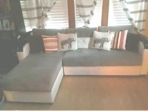 Sectional couch/bed and matching chair for Sale in Milwaukee, WI