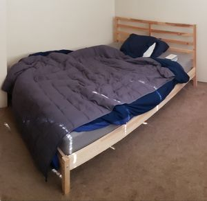 Bed frame and/or mattress for Sale in Portland, OR